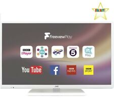 "JVC Lt-32c671 32"" Inch Smart LED TV White WiFi HDMI Freeview TV PC USB INPUTS"