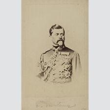 General der Infanterie Ludwig von der Tann-Rathsamhausen. CDV um 1870.