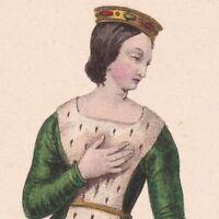 Valentine Visconti De Milan Duchesse D'Orléans Comtesse De Blois De Périgord