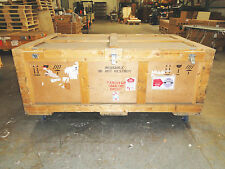 Large Wooden Shipping/Road Case on 4 Casters