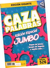 SOPAS DE LETRAS Y OTROS JUEGOS CAZA PALABRAS JUMBO NO. 526, EN ESPAÑOL