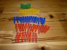 LOT OF 54 BORDENS ELSIE THE COW VINTAGE PLASTIC CLOTHES PINS  RARE