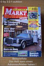 Oldtimer Markt 2/01 Mercedes 600 Fiat 500 DKW Monza