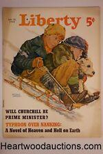 Liberty Jan 20, 1940 Orson Welles, Steve Fisher, Budd Schulberg, Samuel W. Taylo