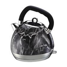 1.8L Electric Cordless Kettle Fast Boil Tea Coffee Marble Effect 2200 W Black