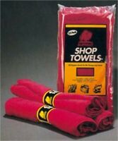 62010C Shop Towels 10/Pack, Buffalo Industries Inc, EACH, BAG, Excellent grease