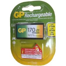 GP 9V (8.4) Nimh 170mAh Rechargeable Battery
