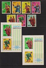 Bhutan - 1964 Tokyo Olympics set, mint, cat. $ 32.05