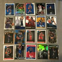 HUGE 20 Card Basketball Lot Prizm, Select, Silver, Rookies, Inserts, Plus More