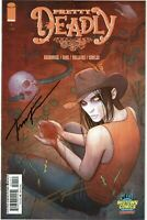Pretty Deadly #1 - Midtown Comics Variant Edition - Signed by Jenny Frison - NM