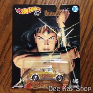 '67 Austin Mini Van (Wonder Woman) - Alex Ross - Hot Wheels Pop Culture (2018)