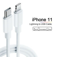 For Apple iPhone 11 Pro Max Type-C to Lightning USB-C Cable 18W PD Charging Lead