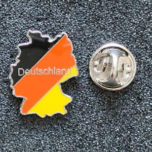 Pin Anstecknadel Deutschland Karte