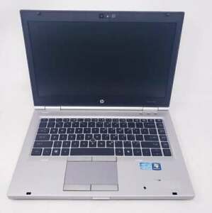 """HP EliteBook 8460p i5 2520m 2.5Ghz 8GB No HDD 14"""" Bad CMOS batter - Boot to bios"""