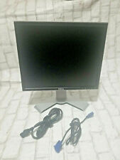 """Dell 17"""" LCD Monitor With Power Cord And VGA Cable 1908FPt,1908FPc,"""