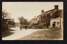 Wool Village  - real photographic postcard
