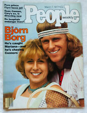 People Magazine Bjorn Borg Tennis March 7 1977 Dyan Cannon