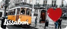 Lissabon Straßenbahn Magnet Epoxid Souvenir Portugal 3D Ornament
