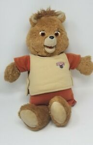 Vintage Teddy Ruxpin 1984 1985 Teddy Bear Story Telling partially working