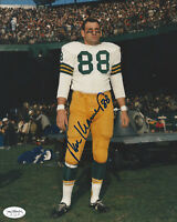 PACKERS Ron Kramer signed 8x10 photo JSA SOA AUTO Autographed Green Bay (D)