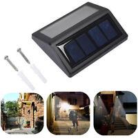 Waterproof 6 LED Solar Power PIR Motion Sensor Light Wall Outdoor Garden Lamp cn