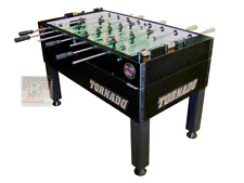 Tornado T-3000 Foosball -SINGLE goalie - Black- FREE 6 pack of Tornado Balls !
