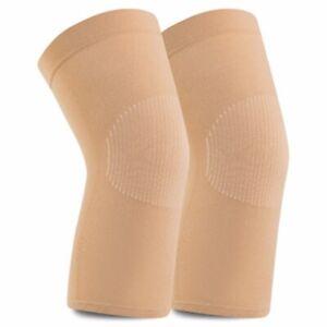 1 Pair Knee Pads Leg Sleeve Support Protector Kneepad Braces Elastic Knee Pad