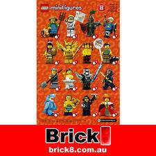 BRAND NEW LEGO 71011 MINIFIGURES SERIES 15 Checklist