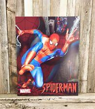Spider-Man Spiderman Marvel Comic Book Metal Tin Sign Decor Boys Theme Man Cave