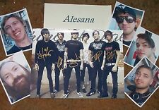 ALESANA Autographed Photo & Photos- REAL Collectible