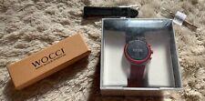 Fossil Sport Smartwatch, Model DW9F2, Rot, Herrenuhr, Uhr, Sportuhr, NEU + Armb.