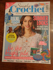 SIMPLY CROCHET HOOKED ON HANDMADE ISSUE 72 2018  MAGAZINE  NEW  21 PATTERNS