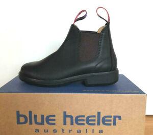Blue Heeler Tasman Kinder-Boots, Stiefelette, schwarz / braun , Einzelpaar !