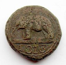 Ceylon 1803 1/12 Rix Dollar Dump