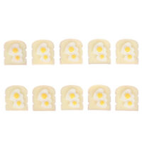 1//12 Scale dollhouse bread machine with toast miniature cute decorations toas/_EW