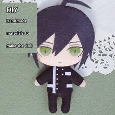 Anime Danganronpa V3 Ouma Anime Handmade Plush Doll Toy Keychain Bag Cosplay#7-1