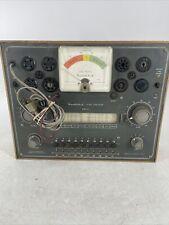 Vintage Heathkit Tc 2 Tube Checker Tester Unit Powers On