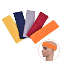 Sport Yoga Running Elasticity Sweat Headband Women/Men Cotton Safety Sweatban Fy
