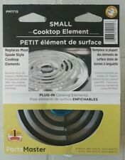 """PARTS MASTER Small 6"""" replaces most Spade Style cooktop elements PM1T15"""