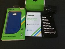 Microsoft Lumia 650 Smartphone Cricket Blue Android Free Screen Protection