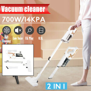 2 in 1 700W Corded Vacuum Cleaner 14KPa Suction Stick Vacuum Handheld Home XY