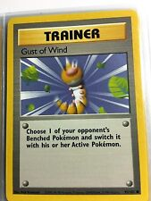 93/102 COMMON TRAINER GUST OF WIND ORIGINAL 1999 BASE Pokemon Card UNPLAYED NM-M