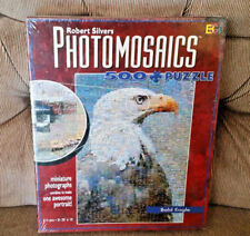 Photomosaics Robert Silvers BALD EAGLE Puzzle 513 Pieces New Sealed Buffalo Game