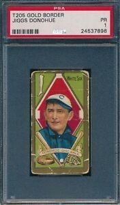 1911 T205 Jiggs Donohue Piedmont PSA 1 *OBGcards*