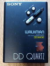 Sony Walkman WM-DDIII, DD3, DD Quartz, Stereo Cassette Player