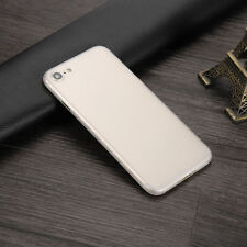 """For iPhone 7 4.7"""" 0.3mm Slim Clear PC Matte Ultra-Thin Hard Back Skin Cover Case"""