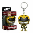 Power Rangers Movie Yellow Ranger Pocket Pop! Keychain Stylized Collectable
