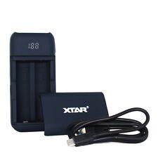 Xtar PB2 mobiles Akku-Ladegerät/Powerbank passend für 18650er (nicht enthalten)