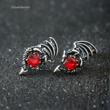 New Game of Thrones Dragon Stud Earrings Red Swarovski Daenerys Targaryen Women
