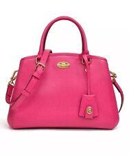 NWT Coach Mini Margo Carryall Handbag Pink Ruby F 34835 $325